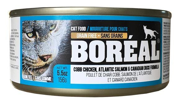 Boreal Cobb Chicken, Atlantic Salmon and Canadian Duck Pate