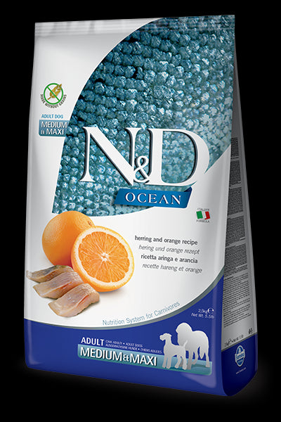 N&D Ocean Feline Herring & Orange Adult