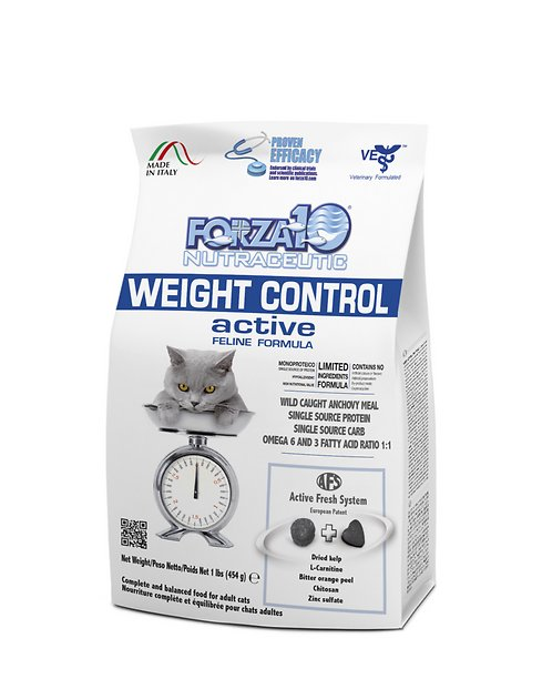 Forza10 Cat Weight Control