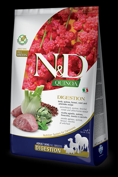 N&D Quinoa Functional Canine Digestion Lamb