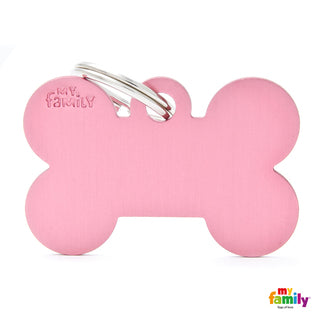 My Family Tag Basic Bone Pink XL