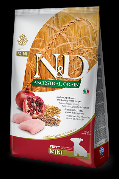 N&D Ancestral Grain Chicken & Pomegranate Puppy MINI