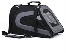 TUFF Airline Carrier Black/Grey