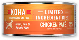 KOHA Cat Can Limited Ingredient Diet Chicken Pâté