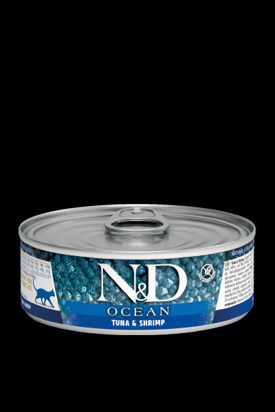 N&D Ocean feline Tuna & Shrimp Adult Wet Food