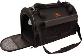 One For Pets Folding Dome Carrier Black XL