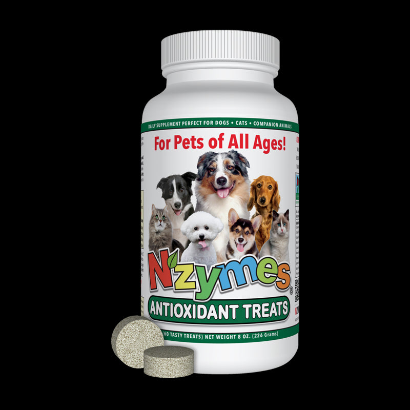 Nzymes Antioxidant Tablet Treats for Pets