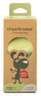 Earth Rated Certified Compostable Refill Poop Bags
