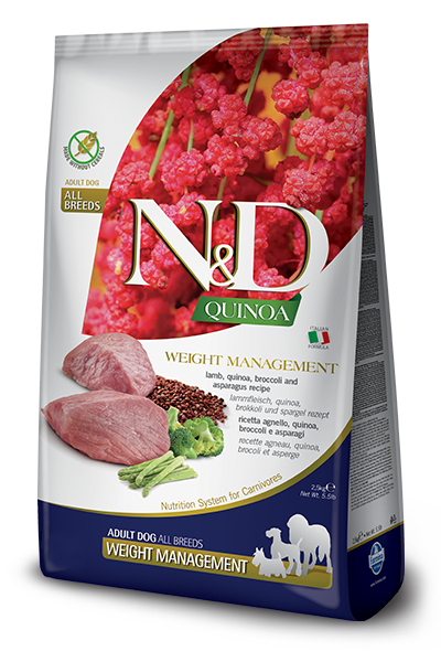 N&D Quinoa Functional Canine Weight Management Lamb Dog Food