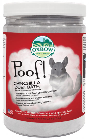 Oxbow Poof! Chinchilla Dust Bath