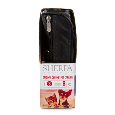 Sherpa Original Deluxe Carrier Black Small