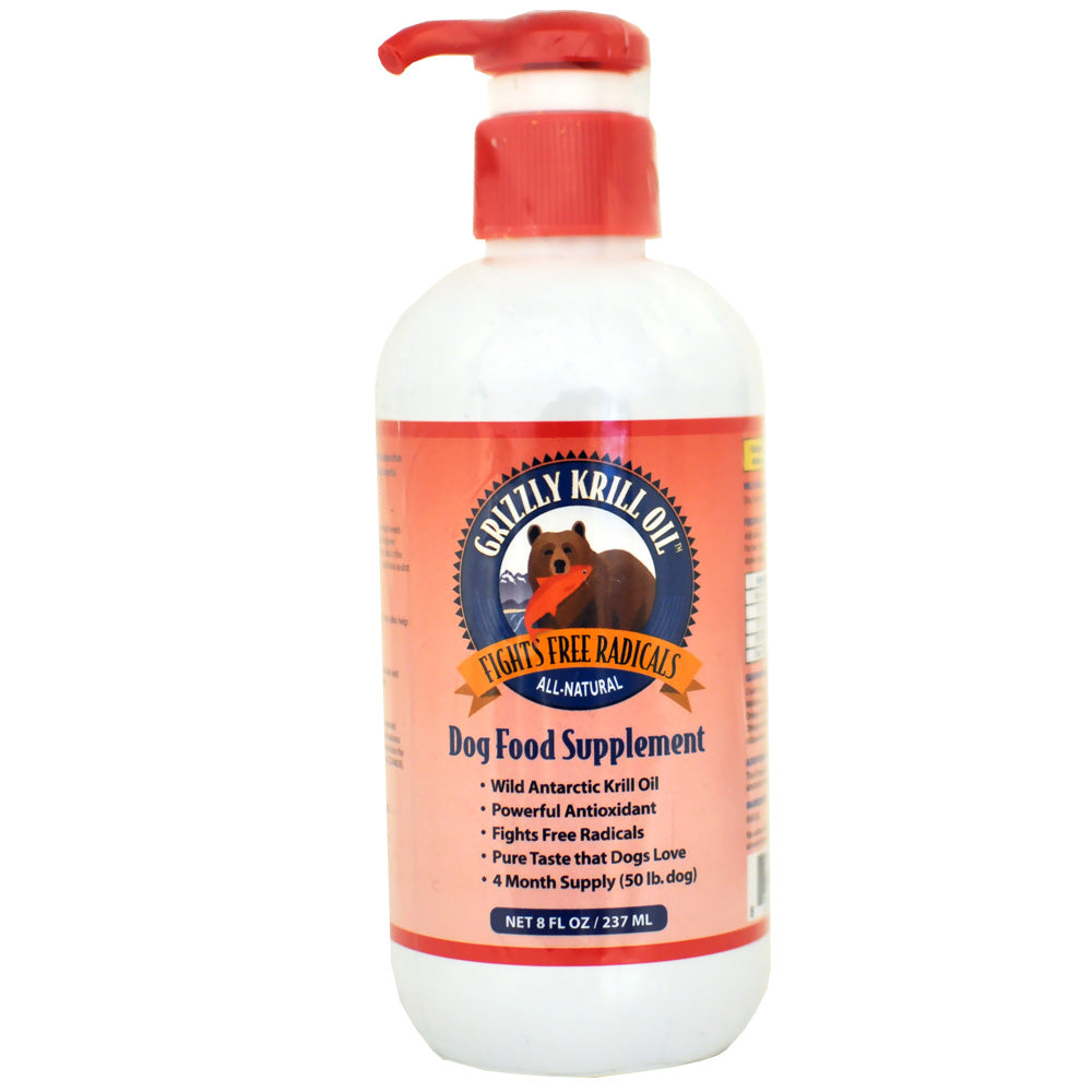 Grizzly Pet Krill Oil