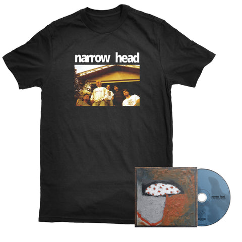 Narrow Head - 12th House Rock shirt and CD PREORDER