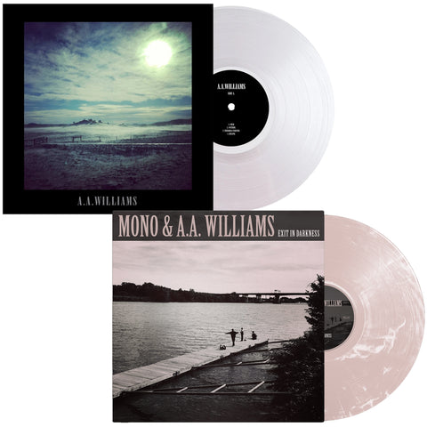 A.A.Williams - S/T (Reissue) + Mono & A.A.Williams - Exit In Darkness bundle