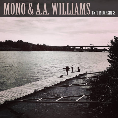 "Mono & A.A.Williams - Exit In Darkness - White w/pink marble vinyl 10"" (PELAGIC RECORDS)"