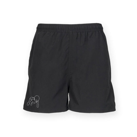 Holy Roar embroidered logo shorts PRE-ORDER