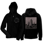 Rolo Tomassi 'Time Will Die...' zip-up hoodie