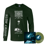 "Slow Crush - Reel long sleeve + eco vinyl 7"" bundle"