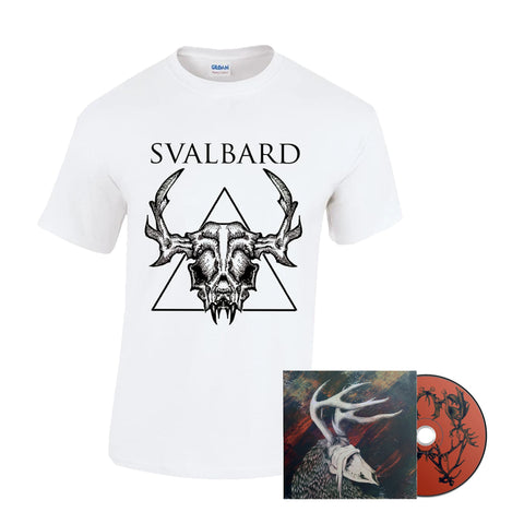 Svalbard - When I Die, Will I Get Better? T-shirt and CD bundle PRE-ORDER
