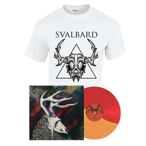 Svalbard - When I Die, Will I Get Better? T-shirt and vinyl LP bundle PRE-ORDER