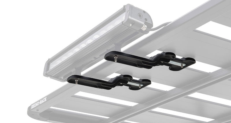 Rhino Rack Pioneer LED Light Bracket (2 Pack) 43156