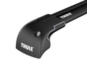 Thule Wingbar Edge Fixedpoint / Solid Roof Rails Black-959520