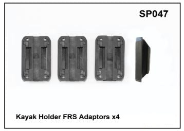 Whispbar Kayak Holder FRS Adaptors x 4 YSP047