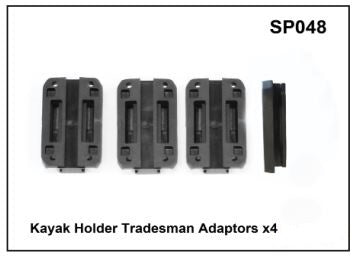 Whispbar Kayak Holder Tradesman Adaptors x 4 YSP048