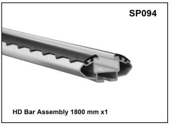 Whispbar HD Bar Assembly 180cm x1 YSP094