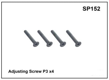 Whispbar Adjusting Screw P3 x4 YSP152