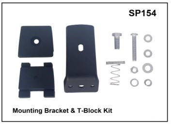 Whispbar Mounting Bracket & T-Block Kit YSP154