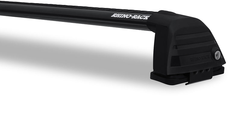Rhino Rack Vortex ROC25 Flush Black 2 Bar Roof Rack RV0366B
