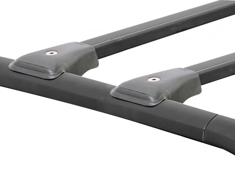 Prorack X Bar Flush Multi-Fit Rasied Rail Roof Rack - Flush Multi-Fit Rasied Rail Roof Rack - Fits 1040-1140mm X6