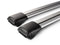 Whispbar Rail Bar Silver Roof Rack set for Rasied Rails S44W