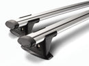 Whispbar Through Bar Silver Roof Rack set S16W