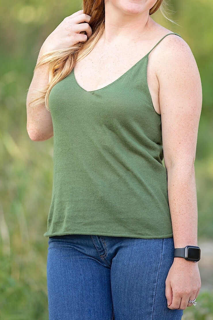 The Paxton Top- Green