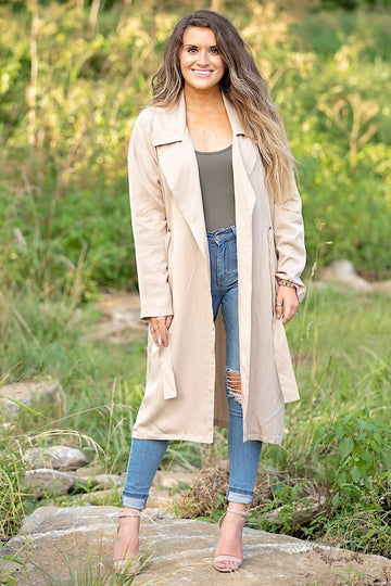 The Lena Jacket- Tan