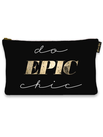 Indigo Fair Make-Up Bag Do Epic Chic Makeup Bag
