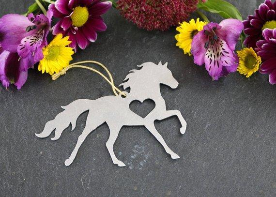 Iron Maid Art Iron Maid Art - Horse Pony Ornament