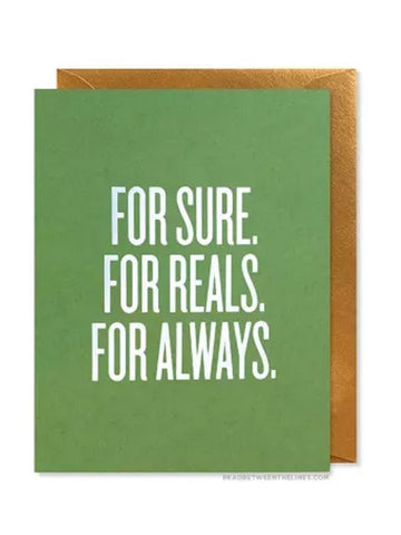 RBL Greeting Card For Always Card