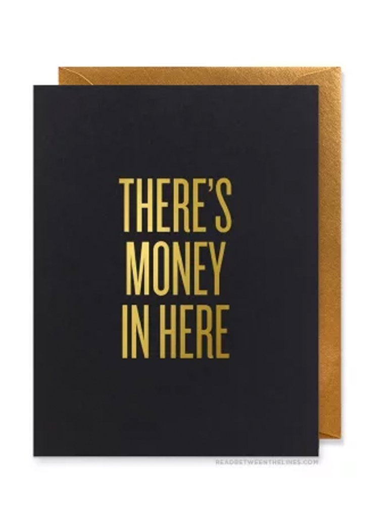 RBL Greeting Card There's Money in Here Card