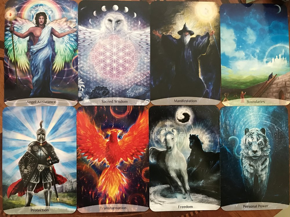 Sacred Power Reading Cards by Anna Stark