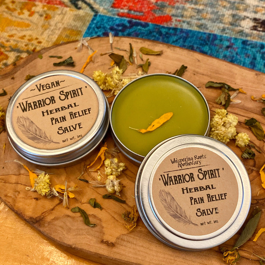 Warrior Spirit Herbal Pain Relief Salve