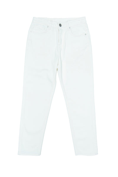 Tina - White Stretch Denim