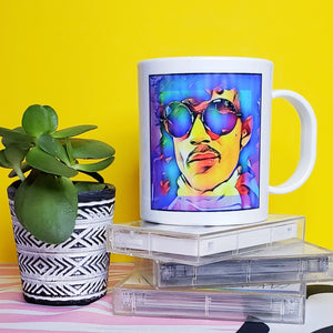 PURPLE ONE MUG - WITH SYMBOL