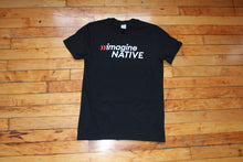 Load image into Gallery viewer, imagineNATIVE Logo Tee