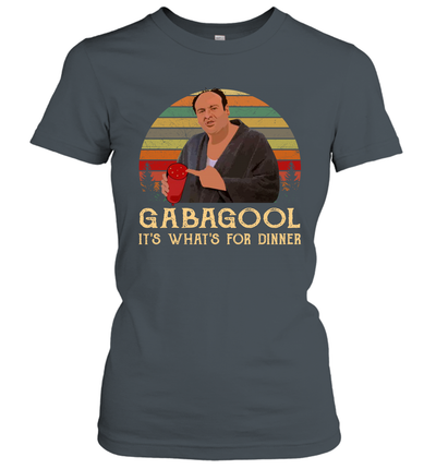 Gabagool It's What's For Dinner Vintage Graphic Shirt