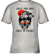 Skull Ocean Sassy Since Birth Salty By Choice Funny Beach Shirt