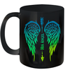 Wings His Angel Arrow Cross Funny Mug Couple Coffee Mugs