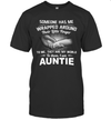 Someone Has Me Wrapped Around Their Little Finger I Am Aunt Shirt